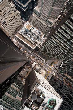 "celestiol: "" Intersection (NYC)   by Navid Baraty """