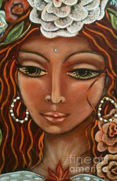Angel Heart Painting by Maya Telford - Angel Heart Fine Art Prints and Posters for Sale