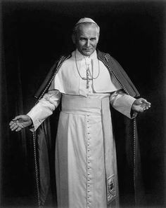 2 x Pope John Paul II second Roman Catholic Church Head photo picture print Catholic Saints, Roman Catholic, Catholic Religion, Yousuf Karsh, Papa Juan Pablo Ii, Pope John Paul Ii, Paul 2, Pope Benedict Xvi, Papa Francisco