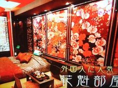 Ceiling Painting, Painted Doors, Sliding Doors, New Homes, Architecture, Room, Kimono, Paintings, Furniture