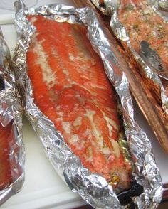 Grilled Candied Salmon Recipe - Melts in your mouth!