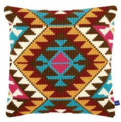 Подушка для вышивания Vervaco PN-0146715 Этнический принт
