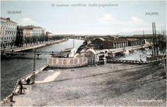 Granica Jugoslavije (Sušak) i Italije (Fiume)