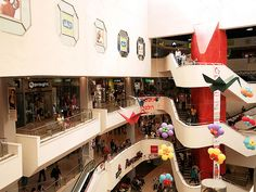 Tel Aviv, Israel - Public Spaces, Dizengoff Street (רחוב דיזנגוף) shopping mall