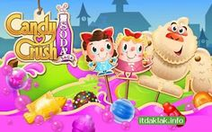 Best Games Apps For Android Mobile: Game Candy Crush Soda Saga v1.43.8 Apk