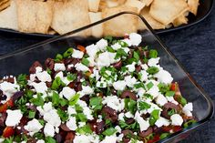 Easy Spinach Dip - A cold, creamy, flavorful appetizer to wow your friends and family! From scratch, no dry soup mix here. Mediterranean Dip, Mediterranean Appetizers, Roasted Tomatillo Salsa, Dry Soup Mix, White Bbq Sauce, Easy Restaurant, Sausage Breakfast, Breakfast Cake, Spinach Dip