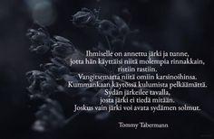 tommy tabermann runot elämästä - Google-haku