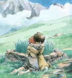 """""""The Journey of Shuna シュナの旅"""" by Hayao Miyazaki*"""