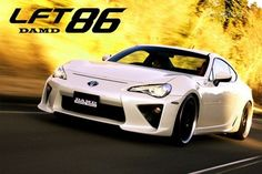 DAMD BUILDS AN LF-A KIT FOR THE TOYOTA GT 86