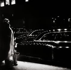 A night at the Metropolitan Opera, New York, 1950, a photo by Eve Arnold