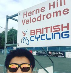 What to do on rest days with @leepovey? Visit other velodromes and frozen custard! Something never changes. #velodrome