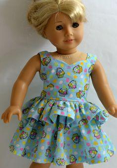 American Girl Doll Clothes   Easter Basket by ThreadsAndSplinters, $21.00