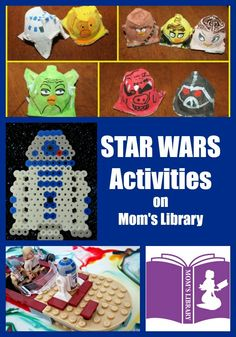 Life with Moore Babies: Star Wars Activities from Mom's Library
