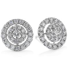 Captivation Stud Earrings #myHOFwishlist I have wanted these since the first time I saw #HeartsOnFire