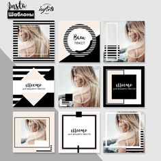 Design Magazine Fashion Black White 63 Ideas For 2019 Instagram Grid, Instagram Design, Social Media Branding, Social Media Design, Web Design, Web Inspiration, Logo Design Inspiration, Instagram Feed Theme Layout, Magazine Layout Design