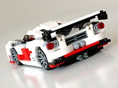 over the top lego car