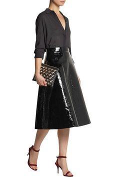 rochas patent leather skirt - Recherche Google