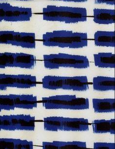 Blue, black and white // ikat design by lourdes sanchez Motifs Organiques, Motifs Textiles, Textile Patterns, Textile Prints, Pattern Texture, Surface Pattern Design, Ikat Pattern, Kimono Pattern, Design Textile