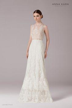 Brautkleider von Anna Kara - Model Louise