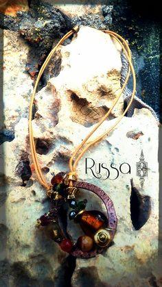 Beautiful necklace <3 2015 handmade by Russa bijoux