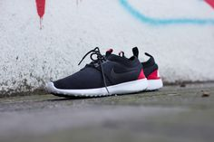new style 56ea0 b898b NIKE WMNS JUVENATE TP `FLEECE PACK` BLACK BLACK-CHLLNG RED-WHITE available  at www.tint-footwear.com nike-wmns-juvenate-tp-fleece-pack-749551-002 nike  ...