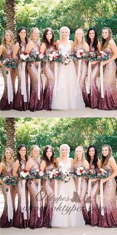 On Sale Admirable Mermaid Bridesmaid Dress Mermaid Round Neck Long Ombre Sequined Bridesmaid Dresses, Mermaid Round Neck Long Ombre Sequined Bridesmaid Dresses Ombre Bridesmaid Dresses, Ombre Wedding Dress, Gold Glitter Bridesmaid Dresses, Bride Maid Dresses, Sequin Wedding Decor, Rose Gold Dresses, Western Bridesmaid Dresses, Cranberry Bridesmaid Dresses, Sparkly Bridesmaids