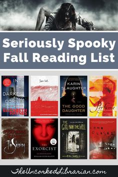 Are you ready for Halloween reading lists?  Keep your fall TBR pile overflowing with The Uncorked Librarian's seriously spooky books for adults and teens book list.  Find horror books, suspense, scary books, thrillers, mysteries, and seriously spooky books to read. Best Books To Read, Good Books, My Books, Book Club Books, Book Nerd, Reading Lists, Book Lists, Indie Books, Horror Books