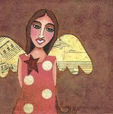 Image result for angel folkart
