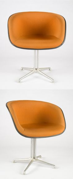 Originally designed by Charles and Ray #Eames for Alexander Girard's LA FONDA DE SOL Restaurant in NYC, eventually this chair was offered to the public at large.