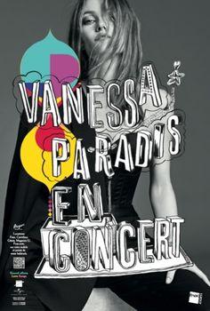 Affiche dernier concert Vanessa Paradis