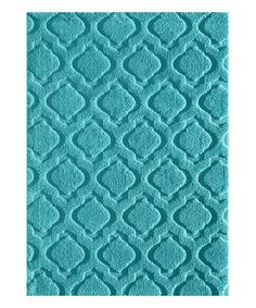 Ground your space in eye-catching modern style courtesy of this durable and attractive heat-set rug. Rug Texture, Quatrefoil, Your Space, Teal, Beige, Rugs, Modern, Home Decor, Style