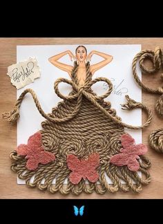 Fashion Illustrator Creates Gorgeous Dress Designs Using Everyday Objects. Design artist Edgar Artis uses adapted patterns items to make lovely dresses. Dress Design Sketches, Fashion Design Drawings, Fashion Sketches, Dress Designs, Arte Fashion, 3d Fashion, Kleidung Design, Fashion Illustration Dresses, Fashion Illustrations