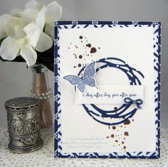 Butterfly Blue -- Wacky Watercooler Blog Hop