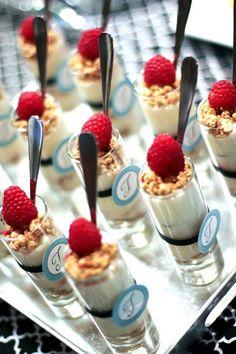 Fabulous Breakfast and Brunch Wedding Ideas for the Early Birds - wedding dessert idea; Banner Events via Kara's Party Ideas