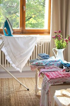 Ironing can be soothing and getting some chores accomplished definitely counts as a beautiful moment!