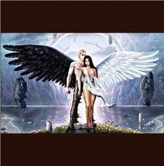 """""""Anjos de uma asa só.  Só podem voar juntos."""""""