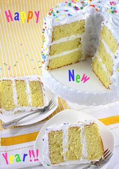 Delicious, light and fluffy lemon chiffon cake filled and frosted with meringue frosting Sweet Recipes, Cake Recipes, Lemon Chiffon Cake, Meringue Frosting, Custard, Vanilla Cake, Caramel, Yummy Food, Women's Fashion