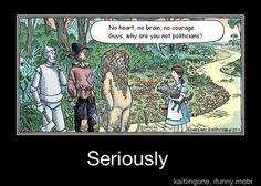 Hahahahaha....Oh man politicians suck