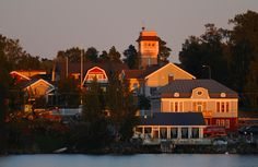 The Island Town of Artisans, Fishermen and Sailors  This wooden town at the West Coast of Finland is known for the fact that it is Finlands smallest. It is very rare for a Finnish town to have preserved most of its old wooden houses. Kaskinen was founded in 1785 on an island by King Gustav III of Sweden and since then it has been one of the most important harbours of Finland. www.visitkaskinen.fi Finnish Language, Natural Resources, Nature Animals, Helsinki, Classical Music, Small Towns, West Coast, Denmark, Norway