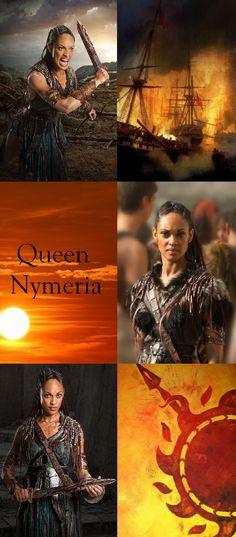 Nymeria was a warrior queen and a Princess of the Rhoynar
