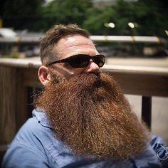 Owen Hicks, a true bearded gentleman Walrus Mustache, Beard No Mustache, Handlebar Mustache, Grey Beards, Long Beards, Moustaches, Beard Quotes, Epic Beard, Man Beard