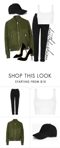"""Untitled #363"" by faithfashionash on Polyvore featuring Topshop and Boohoo"