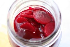 Pickled Beets – No Canning.