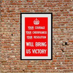 Reprint of the WW2 Poster Your...Victory by VPCompany on Etsy