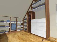 projekt garderoby na poddaszu - Szukaj w Google