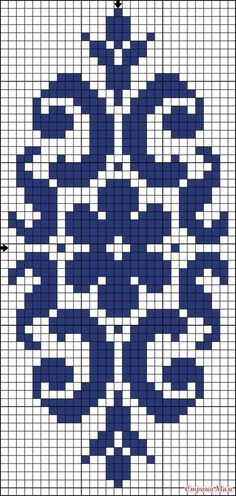 You can actually take a photograph of your design and transform the design through software into a cross-stitch design where you can use it. Cross Stitch Borders, Cross Stitch Designs, Cross Stitching, Cross Stitch Embroidery, Cross Stitch Patterns, Bead Loom Patterns, Beading Patterns, Embroidery Patterns, Broderie Bargello