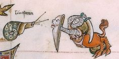 Surreal drawings, to make fun of the knights without fear and without reproach