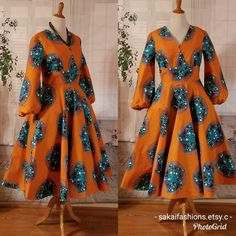 Made to order African clothingAfrican dresses for women hand madeVintage skirt . Best African Dresses, African Attire, African Fashion Dresses, Style Africain, Short Gowns, Ankara Dress, African Print Fashion, Vintage Skirt, Dresses For Teens