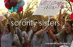 Reasons to love being alive: #Sorority sisters.