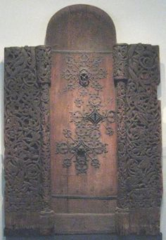 Viking door. Amazing detail. Beautiful!
